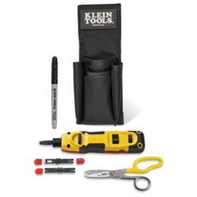 Klein Tools VDV027813 Klein Tools VDV027-813 Lan Installation Starter Kit; Punchdown