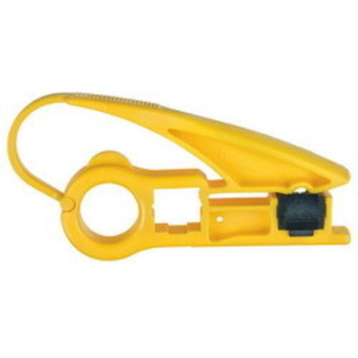 Klein Tools VDV110-802-SEN Klein Tools VDV110-802-SEN Level 2 Radial Cartridge Stripper; 5.200 Inch Overall Length, Durable High Carbon Steel Cartridge