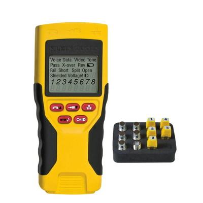 Klein Tools VDV501816 Klein Tools VDV501-816 VDV Scout Pro LT Tester Starter Kit; F-Type, RJ45, BNC, 2.4 Inch