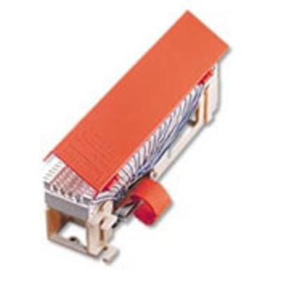 Leviton 40066-MR Leviton 40066-MR Split-M Connecting Block-66 Clip; 50 Pairs, High Impact Fire Retardant Plastic