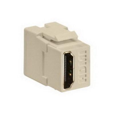 Leviton 40834-I Leviton 40834-I Female-To-Female HDMI Feedthrough Connector; ABS Plastic, Ivory