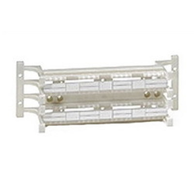 Leviton 41D6A-1F4 Leviton 41D6A-1F4 eXtreme® Category 6A 110-Style Wiring Block; Wall Mount, 64 Pairs