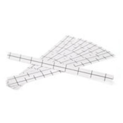 Leviton 41LBL-W Leviton 41LBL-W Extreme® Category 5E Cross-Connect Label Strip; White, 6/PK