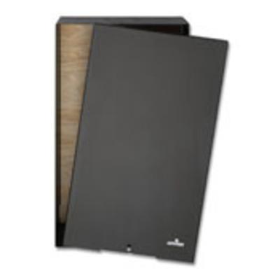 Leviton 47602-24E Leviton 47602-24E Media Versatile Panel; Wall/Recess Mount, Black