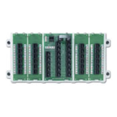 Leviton 47603-24P Leviton 47603-24P Structured Media® Category 5e Structured Media Panel; 24-Port, White