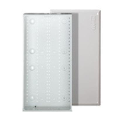 Leviton 47605-28W Leviton 47605-28W Structured Media® 280 Series Enclosure With Cover; Flush Mount, White
