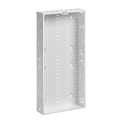 Leviton 47605-M28 Leviton 47605-M28 Structured Media® Enclosure; Flush Mount, 28 Inch Height x 3.63 Inch Depth, Steel, White