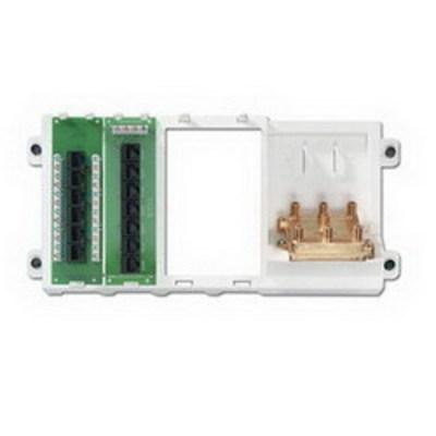 Leviton 47606-BNP Leviton 47606-BNP Category 5e Basic Home Networking Plus Panel; 1-Port
