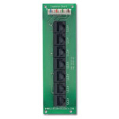 Leviton 47609-EMP Leviton 47609-EMP Category 5e Telephone Patching Expansion Board; 7-Port