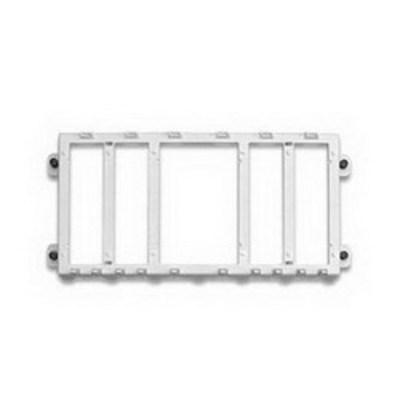 Leviton 47612-EBK Leviton 47612-EBK Structured Media® Expansion Mounting Bracket; Snap-In Mount, White