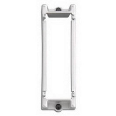 Leviton 47612-SBK Leviton 47612-SBK Structured Media® Expansion Mounting Bracket; Snap-In Mount, White
