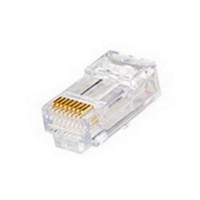 Leviton 47613-EZ6 Leviton 47613-EZ6 Category 6 EZ-RJ45 Modular Plug; 1 Port, 8 Position, Polycarbonate, Clear