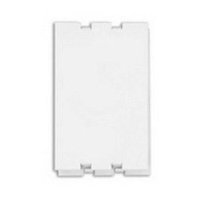 Leviton 47617-PLT Leviton 47617-PLT Snap-In Plate; 4.6 Inch x 2.6 Inch x 0.3 Inch, ABS Molded Plastic, White