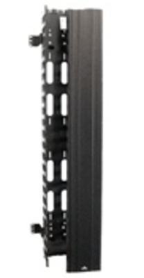 Leviton 4940L-VFO Leviton 4940L-VFO Versi-Duct® Slotted Wireduct; 40 Inch Length x 9.940 Inch Width x 7.070 Inch Height, ABS, Black