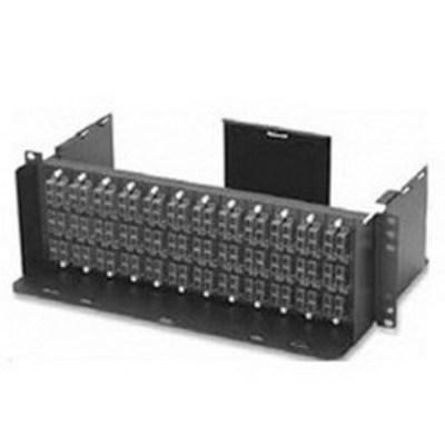 Leviton 5R3UA-A12 Leviton 5R3UA-A12 Opt-X® 500 Enclosure; 288-Fiber, 7.700 Inch Depth, Black