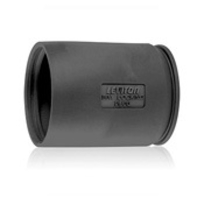Leviton 7715CR Leviton 7715CR 50A Plug Boot Black