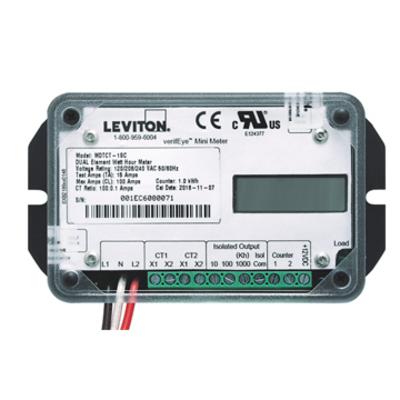 Leviton MSTCT-1SC MSTCT-1SC LEVITON EB GEN3 SGL EL MINIMET 1KWH 100A M1 SC CT