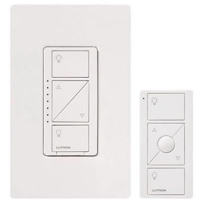 Lutron P-PKG1W-WH Lutron P-PKG1W-WH Caseta™ Wireless Dimmer Kit; 120 Volt, White Color