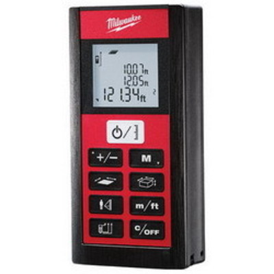 Milwaukee Electric Tools 2281-20 Milwaukee Tools 2281-20 Laser Distance Meter; 2.000 - 200.000 ft, (2) AAA Battery, 1/16 Inch Accuracy