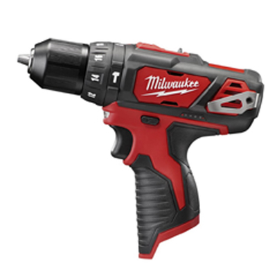 Milwaukee Electric Tools 2408-20 Milwaukee Tools 2408-20 M12™ Hammer Drill/Driver; 12 Volt, 7.5 Inch Length x 3/8 Inch Chuck, 275 Inch-lb Torque