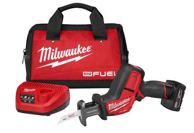 Milwaukee Electric Tools 2520-21XC Milwaukee Tools 2520-21XC Fule™ Hackzall® Powerstate™ Red Link Plus™ Reciprocating Saw Kit; 12 Volt, M12™ REDLITHIUM™ XC4.0