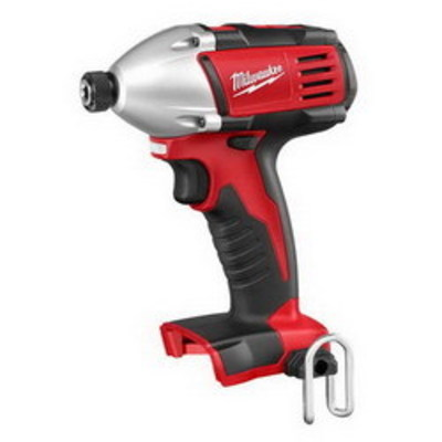 Milwaukee Electric Tools 2650-20 Milwaukee Tools 2650-20 M18™ Compact Impact Hex Driver; 18 Volt, 5.75 Inch Length x 1/4 Inch Drive, 1400 Inch-lb Torque