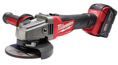 Milwaukee Electric Tools 2781-22 Milwaukee Tools 2781-22 M18 Fuel™ Grinder With Slide Switch Lock-On Kit; 18 Volt, M18™ Redlithium™ XC4.0