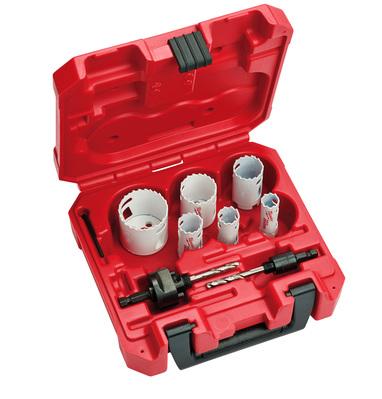 Milwaukee Electric Tools 49-22-4076 49-22-4076 MILWAUKEE HOLE SAW KIT