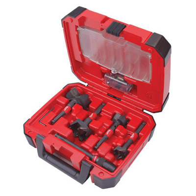 Milwaukee Electric Tools 49-22-5100 Milwaukee Tools 49-22-5100 Switchblade™ Stringer Bead Bit Kit; 5 Piece, Hardened Steel,