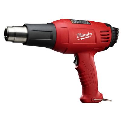Milwaukee Electric Tools 8977-20 Milwaukee Tools 8977-20 Variable Temperature Heat Gun; 11.6 Amp, 120 Volt AC, 100 - 1040 deg F, Red