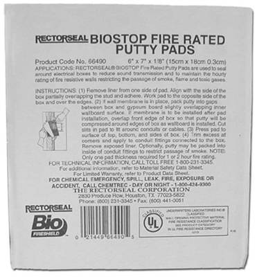 Minerallac 96230 96230 CULLY FIRE PUTTY PAD