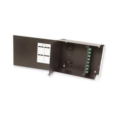 Multilink 10-7790 Multi-Link 10-7790 Standard Single Outer Door Fiber Distribution Unit; Wall Mount, Black