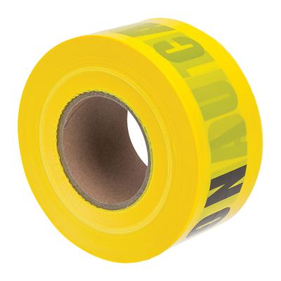 NSI BT-305 NSI BT-305 3 Yellow Barricade Tape caution