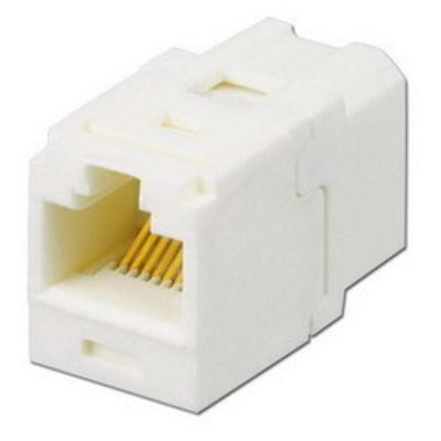 Panduit CC5E88IW Panduit CC5E88IW Mini-Com® TX5e™ Category 5e/Class D Coupler Jack Module; Off White