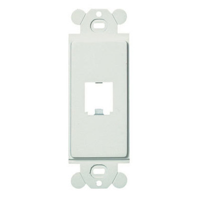 Panduit CFG1EI Panduit CFG1EI Mini-Com® GFCI Module Frame; Plastic, Electric Ivory, (1) Port