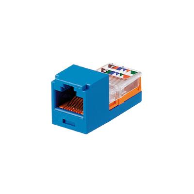 Panduit CJ588BUY Panduit CJ588BUY Mini-Com® Mini-Jack™ TX5e™ Category 5e/Class D Jack Module; 8P8C, Blue