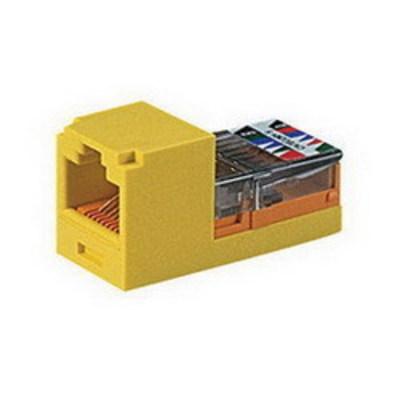 Panduit CJ588EIY Panduit CJ588EIY Mini-Com® Mini-Jack™ TX5e™ Category 5e/Class D Jack Module; 8P8C, Electric Ivory