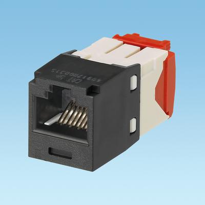 Panduit CJ5E88TGBL-24 Panduit CJ5E88TGBL-24 Mini-Com® TX5e™ Category 5e/Class D Jack Module; 8P8C, Black