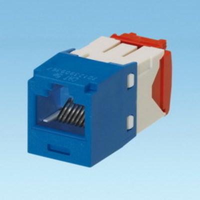 Panduit CJ5E88TGBU-24 Panduit CJ5E88TGBU-24 Mini-Com® TX5e™ Category 5e/Class D Jack Module; 8P8C, Blue