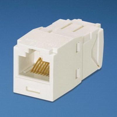 Panduit CJ688TGIW-24 Panduit CJ688TGIW-24 Mini-Com® TX6™ Category 6 RJ45 Jack Module; 8P8C, Off White