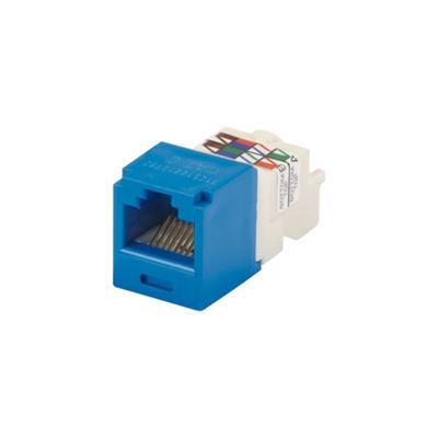 Panduit CJ688TPBU Panduit CJ688TPBU Mini-Com® TX6™ Category 6 RJ45 Jack Module; 8P8C, Blue