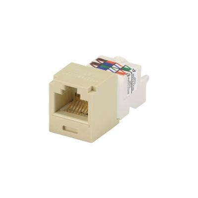 Panduit CJ688TPEI Panduit CJ688TPEI Mini-Com® TX6™ Category 6 RJ45 Jack Module; 8P8C, Electric Ivory