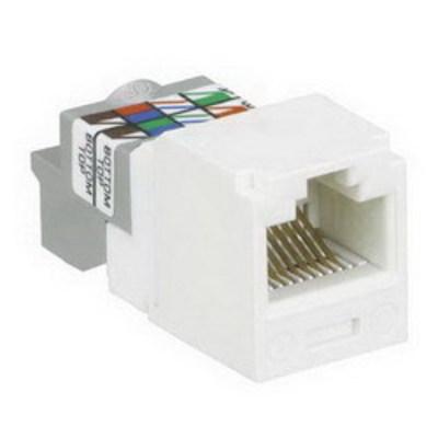 Panduit CJ688TPVL Panduit CJ688TPVL Mini-Com® TX6™ Category 6 RJ45 Jack Module; 8P8C, Violet