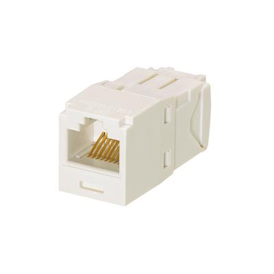 Panduit CJE688TGIW Panduit CJE688TGIW Mini-Com® TX6™ Corrosive Resistant Category 6 RJ45 Jack Module; 8P8C, Off White