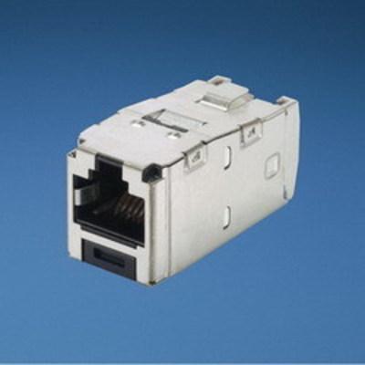 Panduit CJS5E88TGY Panduit CJS5E88TGY Mini-Com® TX5e™ Category 5e/Class D Jack Module; Black