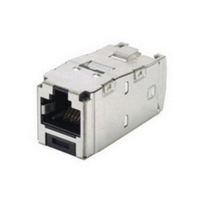 Panduit CJS6X88TGY Panduit CJS6X88TGY Mini-Com® TX6A™ 10Gig™ Category 6A Shielded Jack Module; 8P8C, Black