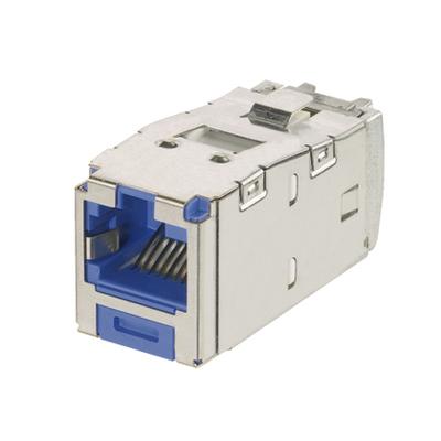 Panduit CJSK688TGBU Panduit CJSK688TGBU Mini-Com® TX6™ Keyed Category 6 RJ45 Jack Module; 8P8C, Blue