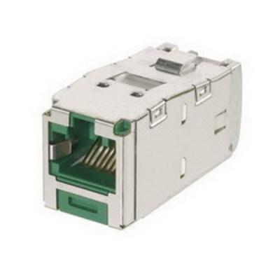 Panduit CJSK688TGGR Panduit CJSK688TGGR Mini-Com® TX6™ Keyed Category 6 TJ45 Jack Module; 8P8C, Gray