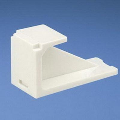 Panduit CMBBL-X Panduit CMBBL-X Mini-Com® Blank Module; Plastic, Black, 10/Pack