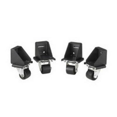 Panduit CNCSTR Panduit CNCSTR Net-access Caster Set; Black, Set Of 4